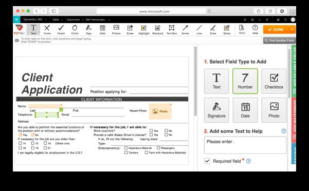 Integrate pdfFiller's DaDaDocs with Dynamics