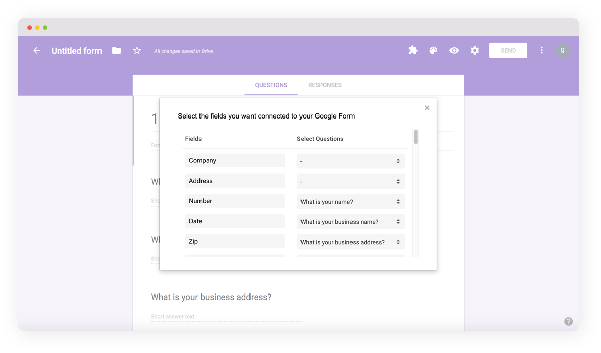 Integrate pdfFiller's DaDaDocs with Google Drive