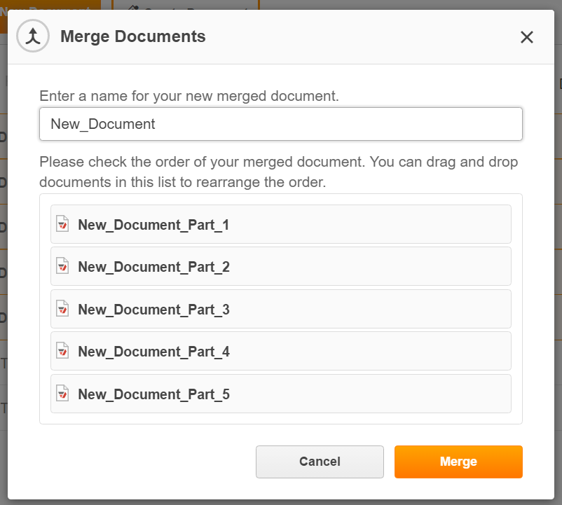 Merge Multiple PDFs Online with PDFfiller account