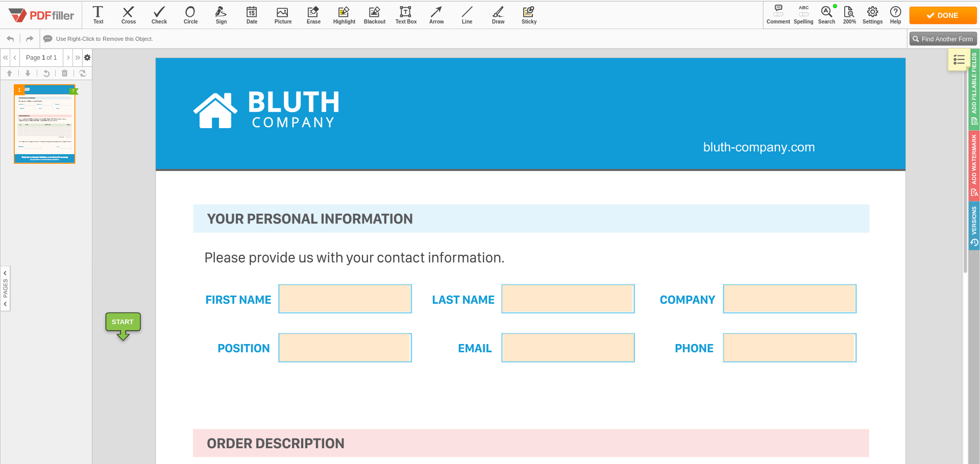 Integrate PDFfiller's DaDaDocs with Zoho CRM