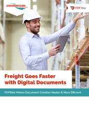 Freight goes Faster with Digital Documents