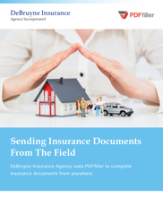 Sending Insurance Documents from the Field