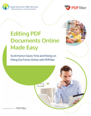Editing PDF Documents Online Made Easy