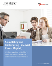 Completing and Distributing Financial Forms Digitally