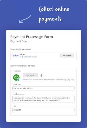 Connect contract negotiation, invoicing, payments, reminders and renewals into a single workflow