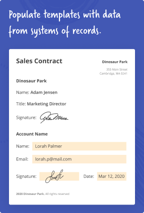 Automate and integrate contract management with any system of record using no-code airSlate bots