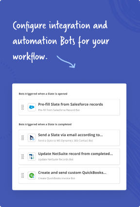 Built-in robotic process automation